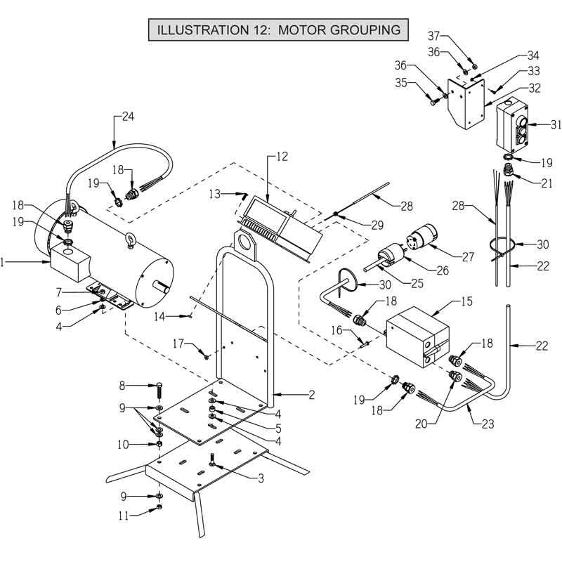 Masonry Trowel And Parts : Edco c vs concrete power trowel parts edcoparts